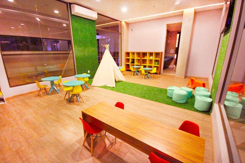 Sala para diversão das crianças