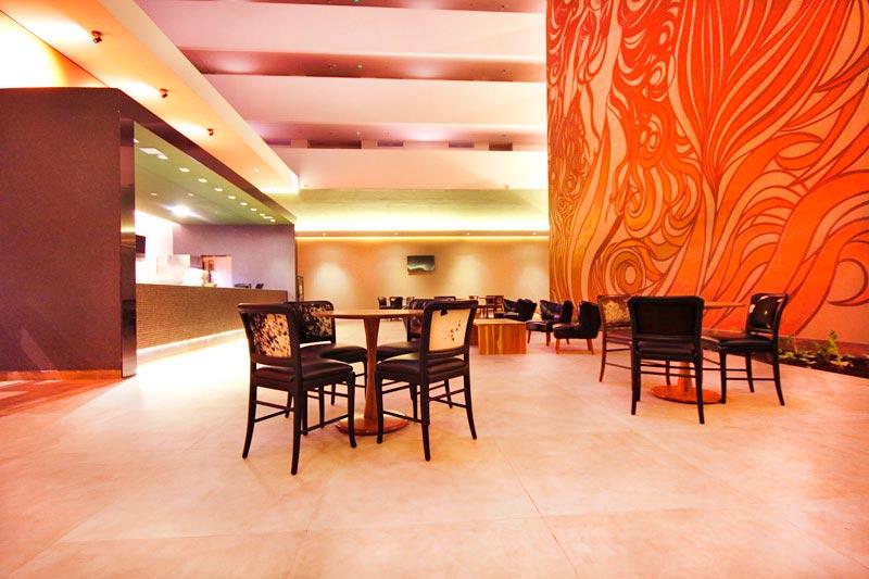 Ambientes decorados para desfrutar de boa gastronomia