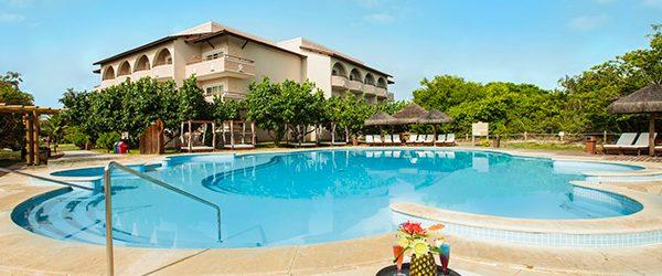 Complexos de piscinas do resort