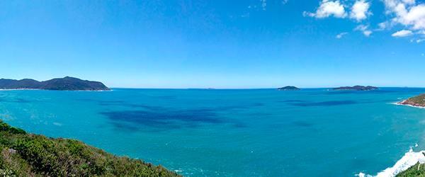 Praias de Florianópolis - Praia do Santinho