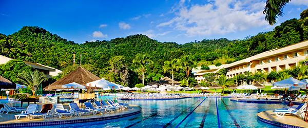 Piscina do Eco Resort Vila Galé Angra dos Reis