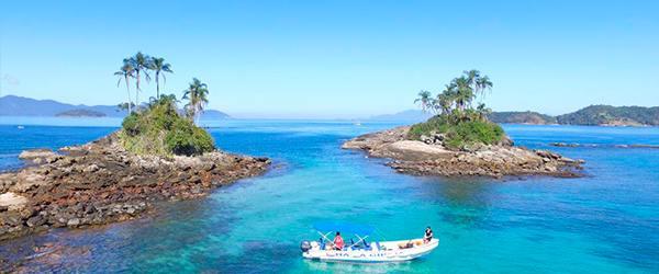 Praias de Angra dos Reis: Ilha Botinas