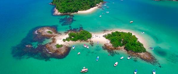 Praias de Angra dos Reis: Ilha de Cataguases