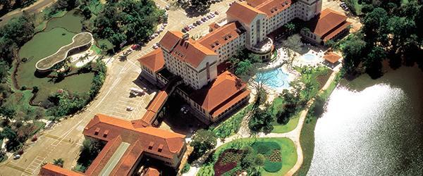 Resorts em Minas Gerais - Tauá Grande Hotel e Termas Araxá