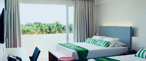 Hot Beach Resort - Acomodações