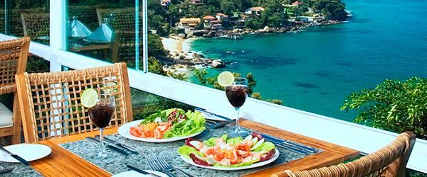 Porto Real Resort - alimentação