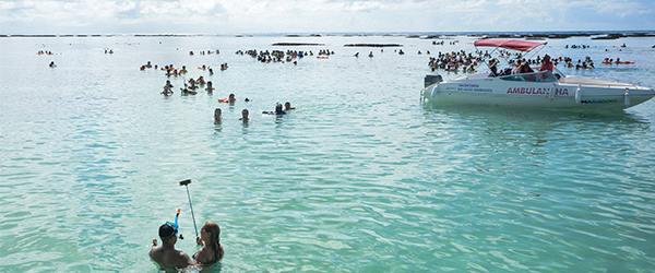 As melhores praias com piscinas naturais do nordeste