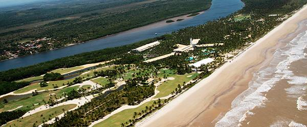 Resorts com campo de golfe no Brasil: Transamerica Comandatuba