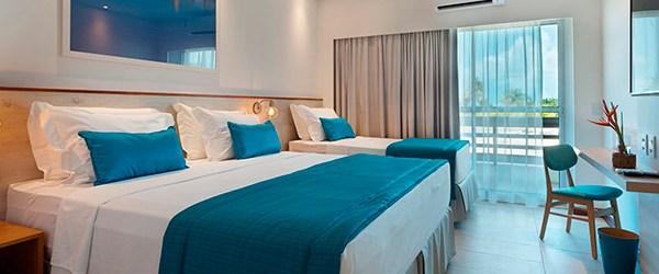 Japaratinga Lounge Resort - Acomodações