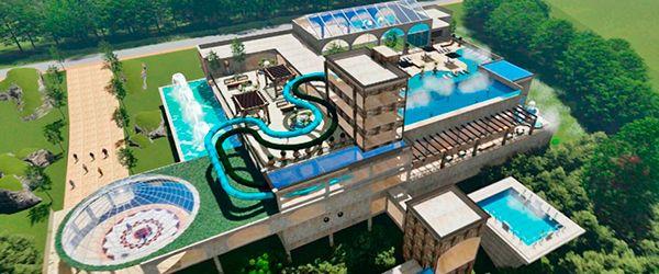 Novo Resort em Gramado: parque aquático Gramado Park