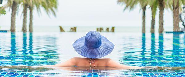 O que é resort? Resorts cinco ou quatro estrelas.