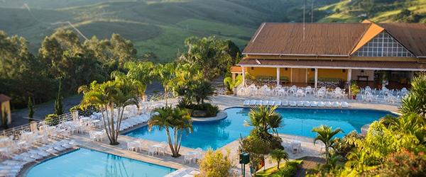 Águas termais no Brasil: Monreale Hotel Resort