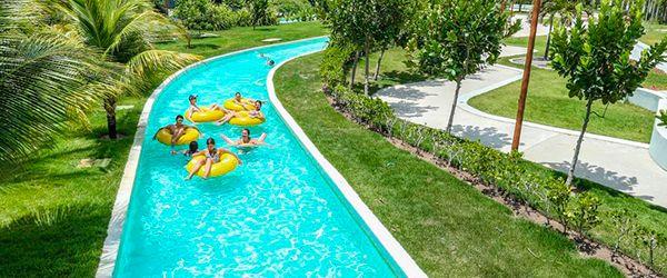 Parques aquáticos no Brasil: rio lento Enotel Acqua Club