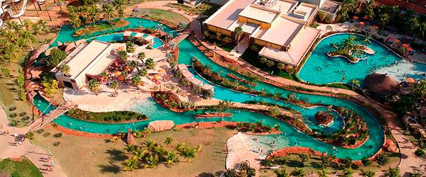 Parques aquáticos no Brasil: Hot Beach Resort - Olímpia