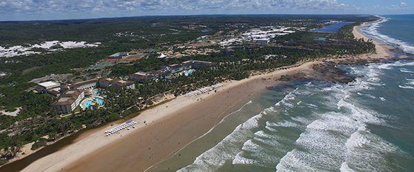 Novidades Resorts Costa do Sauípe - Nova Orla da Praia
