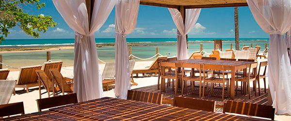 Atendimento na praia do Kûara Hotel - Arraial d'Ajuda