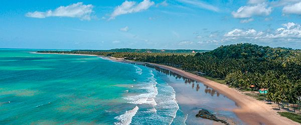 Praia de Japaratinga - Alagoas