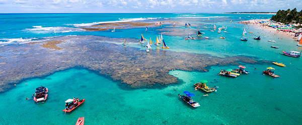 Lugares para viajar em julho: Porto de Galinhas - Pernambuco