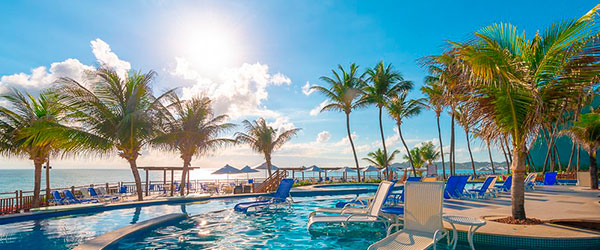 Área de Lazer -Ocean Palace Beach Resort & Bungalows