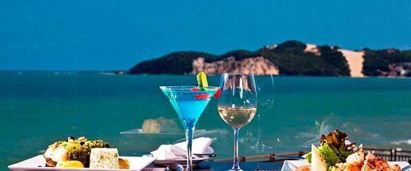 Gastronomia - Suíte Superior - Quarto Suíte Taj Mahal - Suíte Junior Family - Bangalô Luxo - Bangalô - Ocean Palace Beach Resort & Bungalows