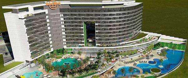 Hard Rock Hotel no Brasil - Caldas Novas