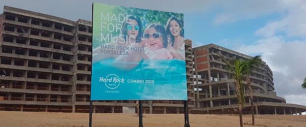 Hard Rcok Hotel no Brasil - Fortaleza