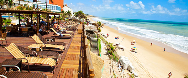 Deck das Piscinas - Ocean Palace Beach Resort & Bungalows