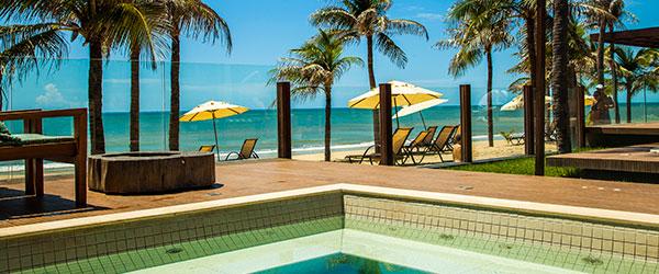Jacuzzi com vista mar - Carmel Cumbuco Resort