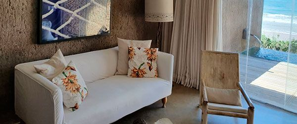 Ambiente de estar - Acomodação Kenoa Resort