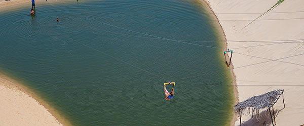 Melhores praias de Fortaleza - Piscinas de água doce em Canoa Quebrada