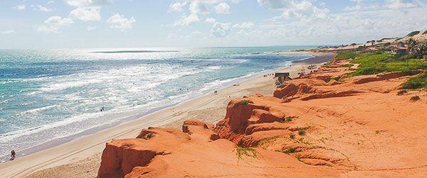 Melhores praias de Fortaleza - Canoa Quebrada