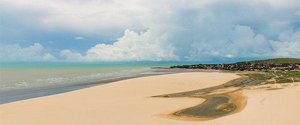 Melhores Praias de Fortaleza - Duna Pôr do Sol em Jericoacoara