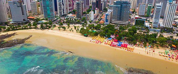 Melhores praias de Fortaleza - Praia de Meireles