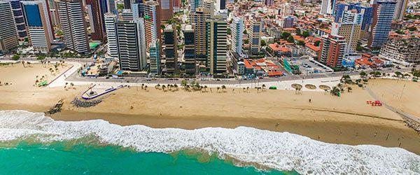Melhores praias de Fortaleza - Praia de Iracema
