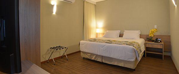 Suíte Luxo do Malai Manso Resort
