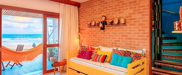 Sala de estar - Bangalô Super Luxo