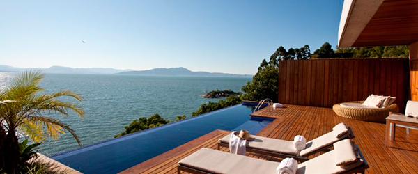Piscina de Borda Infinita - Ponta dos Ganchos Exclusive Resort