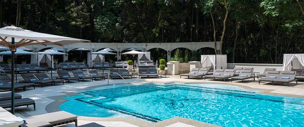 Palácio Tangará - piscinas