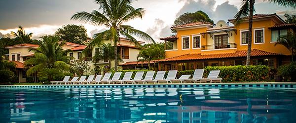 Infraestrutura do resort all inclusive Vila Angatu