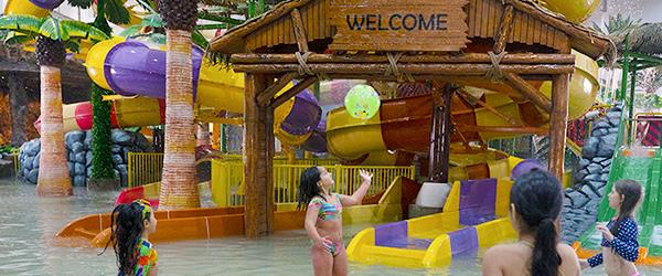 Atrações do Tauá Aquapark Indoor