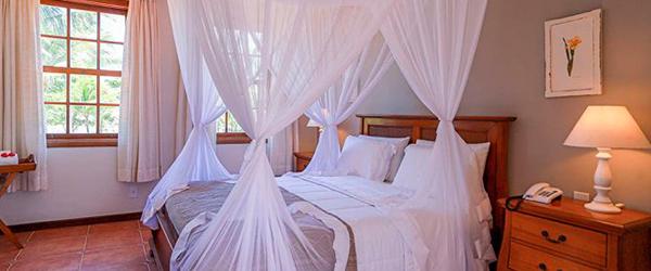 Acomodações do resort Vila Angatu