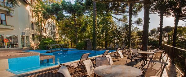 Piscinas aquecidas - Resort em Gramado