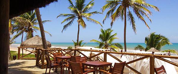 Bar Premium na Praia de Imbassaí