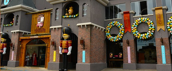 Visita a fábrica de chocolates