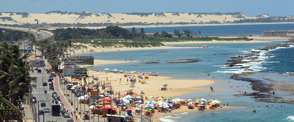 Melhores praias de urbanas de Natal