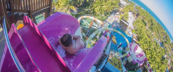 Lugas para viajar com crianças - Beach Park