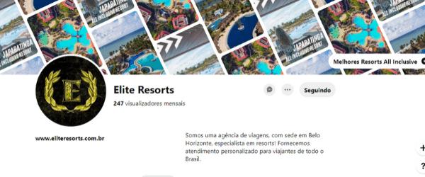 Pinterest Elite Resorts