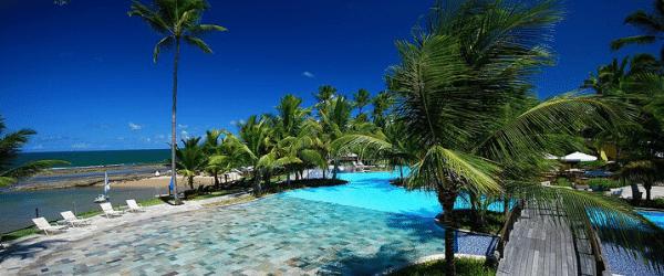 Piscina do resort Nannai