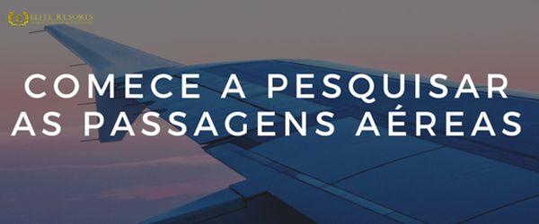 como planejar uma viagem: passagens aéreas
