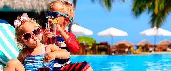 Melhores resorts as férias de julho em familia